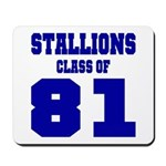 NMHS Class Of 1981 Mousepad