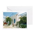 Santorini Villa Art Cards