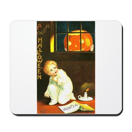 A Thrilling Halloween Mousepad
