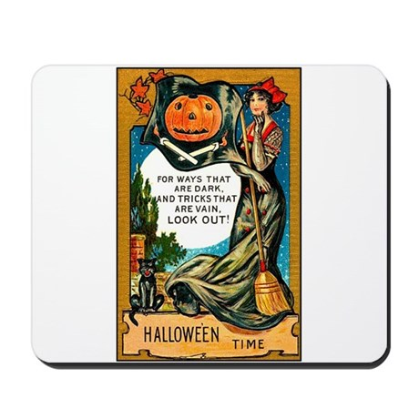 Pirate Witch Mousepad