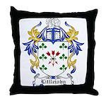 Littlejohn Coat of Arms Throw Pillow