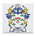 Littlejohn Coat of Arms Tile Coaster