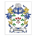 Littlejohn Coat of Arms Small Poster