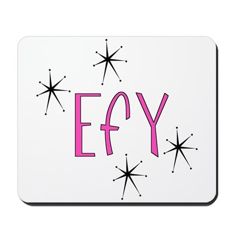 "EFY ""60s Mod"" Mousepad"