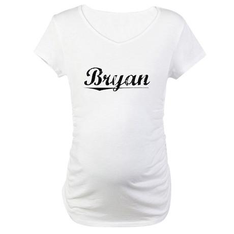 Bryan, Vintage Maternity T-Shirt