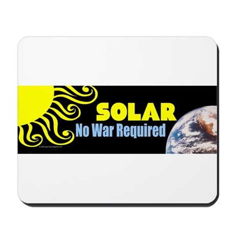 Sun/Earth SOLAR Energy Mousepad