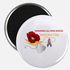 "Veterans Day 2.25"" Magnet (10 Pack) Magnets"