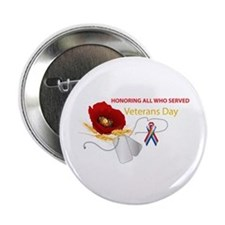 "Veterans Day 2.25"" Button (10 pack)"