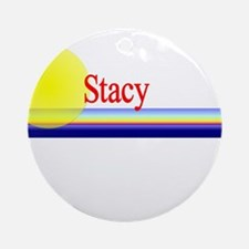 Stacy Ornament (Round)