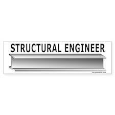 Structural Engineer Bumper Bumper Sticker