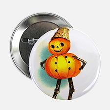 Pumpkin Man Button