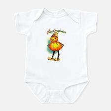 Pumpkin Man Infant Creeper