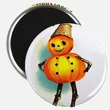 Pumpkin Man Magnet