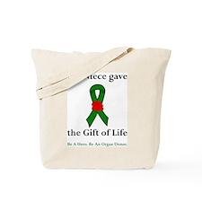 Niece Donor Tote Bag