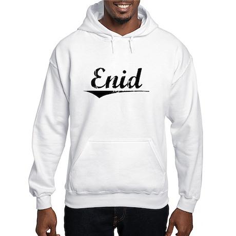 Enid, Vintage Hooded Sweatshirt