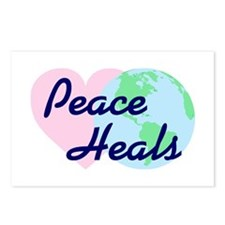 Peace Heals Postcards (Package of 8)
