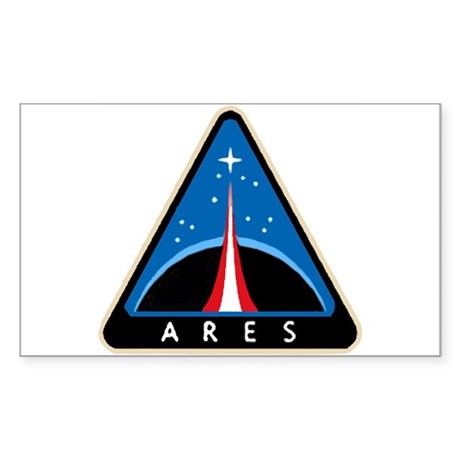 Project Ares Rectangle Sticker