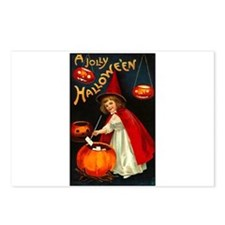 Little Red Witch Postcards (Package of 8)