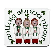 Irish Christmas Choir Mousepad