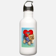 Medical Alert Yorkie Water Bottle