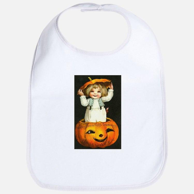 Halloween Baby Bib