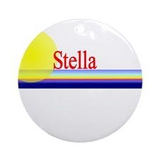 Stella Ornament (Round)