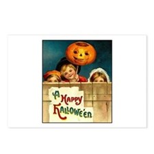 Victorian Halloween Children Postcards (Package of