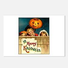 Victorian Halloween Children Postcards (Package of