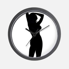 Sexy Silhouette Wall Clock