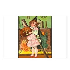 Cute Little Witch Postcards (Package of 8)