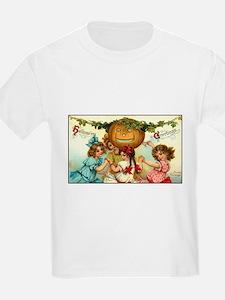 Victorian Halloween Party Kids T-Shirt