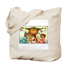Victorian Halloween Party Tote Bag