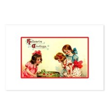 Bobbing for Apples Postcards (Package of 8)