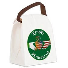 Irish American Claddagh Canvas Lunch Bag