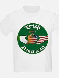 Irish American Claddagh T-Shirt