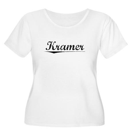 Kramer, Vintage Women's Plus Size Scoop Neck T-Shi
