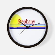 Stephany Wall Clock