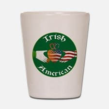 Irish American Claddagh Shot Glass