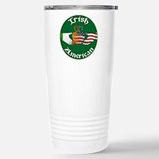 Irish American Claddagh Travel Mug