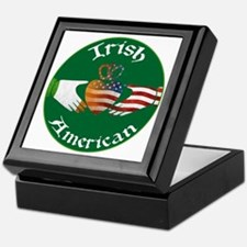 Irish American Claddagh Keepsake Box