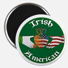 Irish American Claddagh Magnet