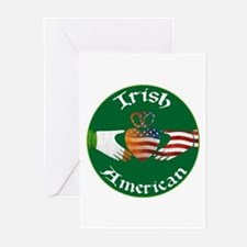 Irish American Claddagh Greeting Cards (Pk of 10)