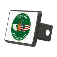 Irish American Claddagh Hitch Cover