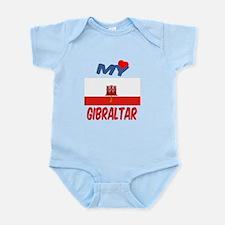 My Love Gibraltar Infant Bodysuit