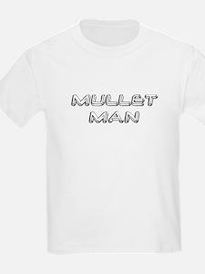 Mullet Man... Kids T-Shirt