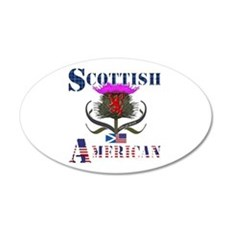 Scottish American Thistle Wall Decal