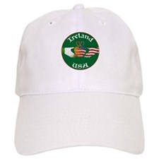 Ireland USA Connection Claddagh Baseball Cap