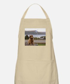 Brussels Griffon By the River BBQ Apron