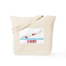 i swim (boy) red suit Tote Bag