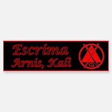 Escrima/Arnis/Kali Bumper Bumper Bumper Sticker